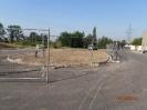 Wykonanie podbudowy chodników, krawężników, korytek ściekowych, ażurów.